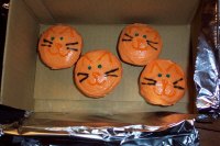 Sarah baked these for Kato's party!!